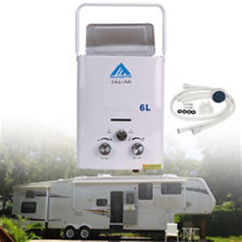 lpg 6l portable tankless camping propane rv 12 volt hot