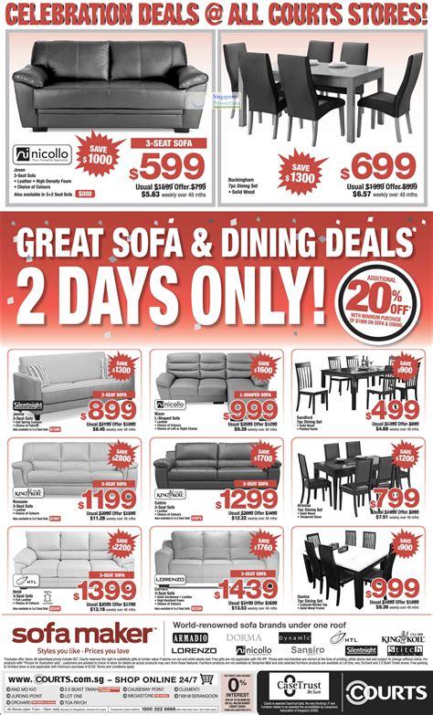 sofa promotion singapore sofa sets silentnight nicollo king koil htl lorenzo