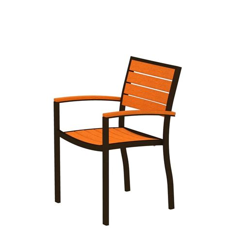 Patio Chairs No Arms Bombay Outdoors Normandy Patio Dining Arm Chairs With