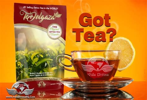 Te Divina Detox Tea Reviews by Original Detox Tea Te Divina Vida Divina Make A Change
