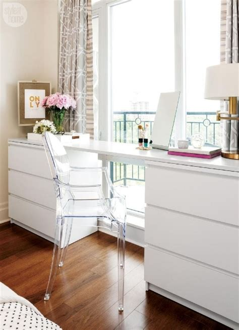 ikea white dresser desk best of ikea malm hacks blue door living