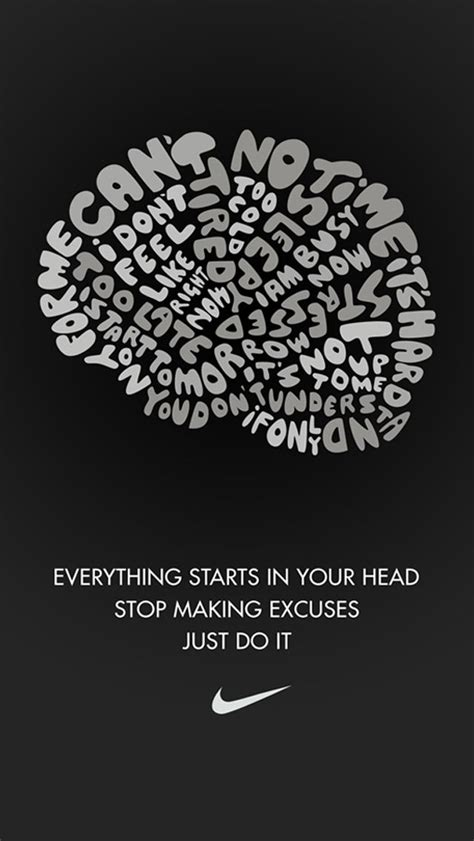 Nike Quote Iphone 5 Wallpaper