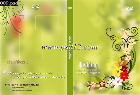 design cover dvd psd indian wedding dvd cover designs psd free download