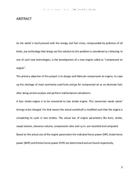 Cell Phone Argumentative Essay by 4 Compressed Air Engine