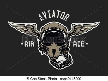 fighter pilot helmet. fighter pilot helmet emblem t shirt
