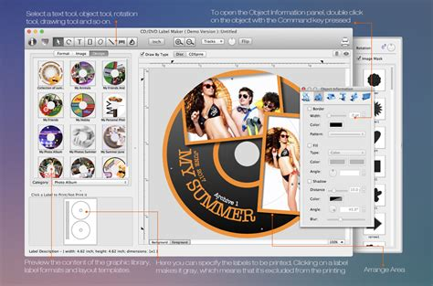 label layout software mac cd dvd label maker disc label design software for mac