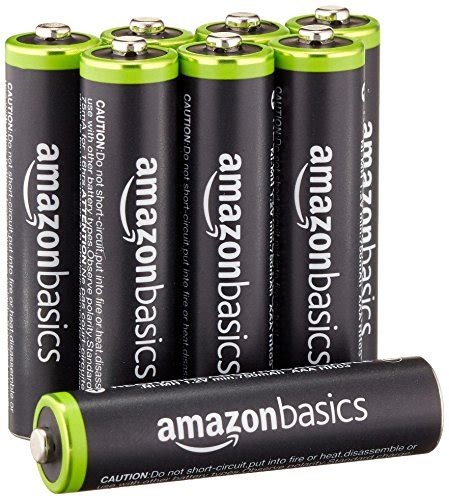 Amazonbasics Aaa amazonbasics aaa rechargeable batteries 8 pack pre charged packaging may vary deals from