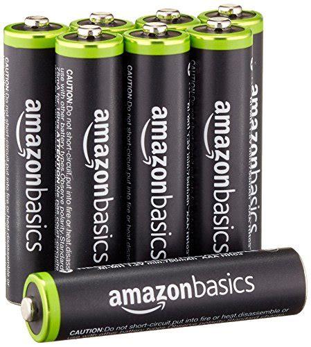 Amazonbasics Piles 9v by Amazonbasics Pile Ricaricabili Mini Stilo Aaa Ni Mh Precaricate 1000 Cicli Tipico 800 Mah