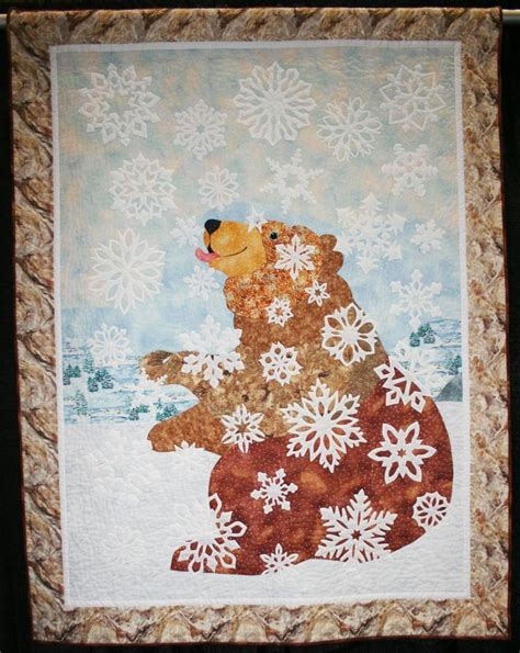 french knot bedspread pattern bear quilt by anne francis she used french knots to
