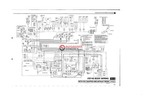 forklift wiring diagrams forklift mast diagram