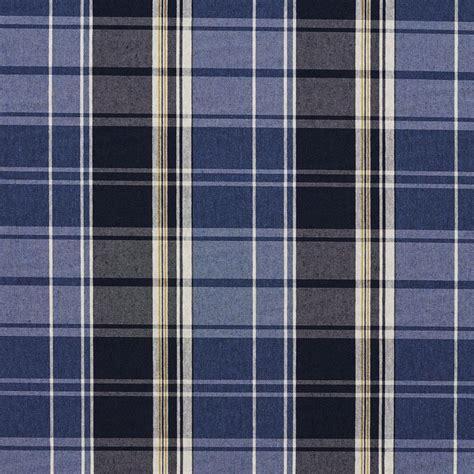 dark  light blue classic plaid jacquard upholstery