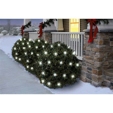 holiday time 70 count twinkle led net christmas lights
