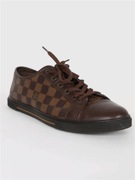 louis vuitton sneakers mens louis vuitton sneakers damier ebene canvas 8