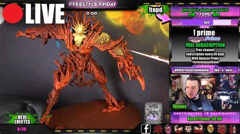 Twitch Giveaway Addon - must see diorama sanguinius vs ka bandha spikey bits