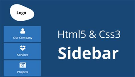 css sidebar background color full height background ideas how to create sidebar in html5 with css3