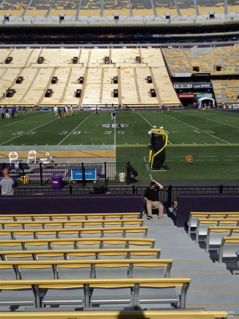 how many seats in tiger stadium tiger stadium lsu seating guide rateyourseats