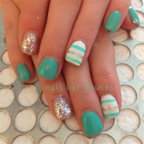 teal gel nail designs best 25 teal nail designs ideas on pinterest nails