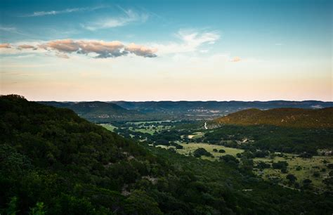Hill Country Hill Country Blues Landscape Photography