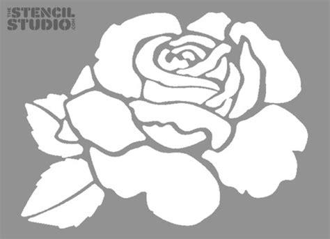 printable stencils rose 7 best images of rose stencils printable free printable