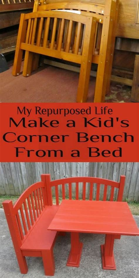 how to make a kids bench 15 diy furniture makeover ideas tutorials for kids hative