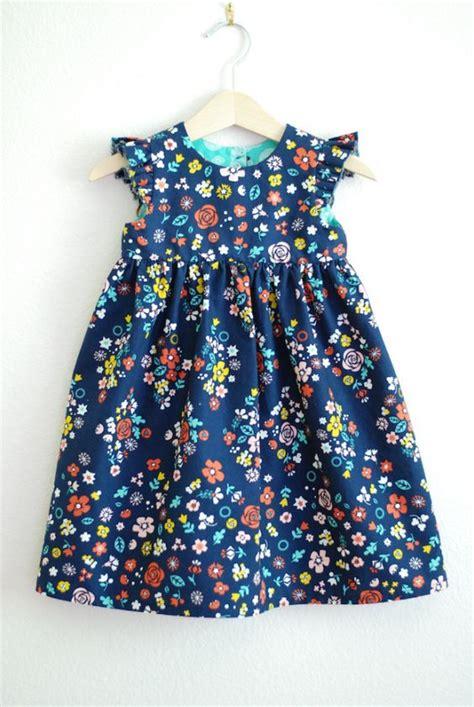 pattern free dress girl sweet summer girls dress tutorial sewing for girls