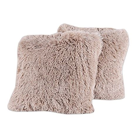 comfy couch pillows sweet home collection plush pillow faux fur soft and comfy