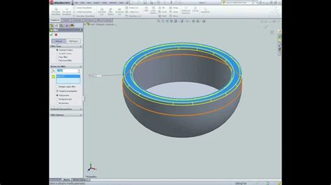 solidworks tutorial youtube 2012 solidworks tutorial part 7 making a bowl youtube