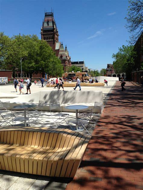 Landscape Architecture Usa The Plaza At Harvard Cambridge Usa Stoss