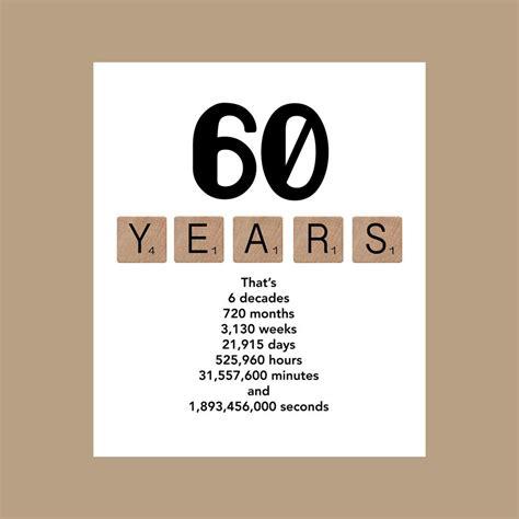 printable birthday cards 50 year olds 60th birthday card milestone birthday card the big 60 1958