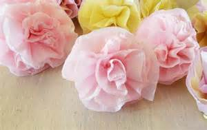 Crepe Paper Flowers - icing designs lovely crepe paper flowers