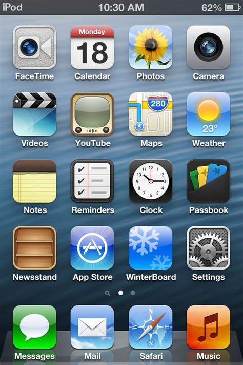 iphone themes for iphone 6 how to transform ios 5 into ios 6 on iphone ipod touch