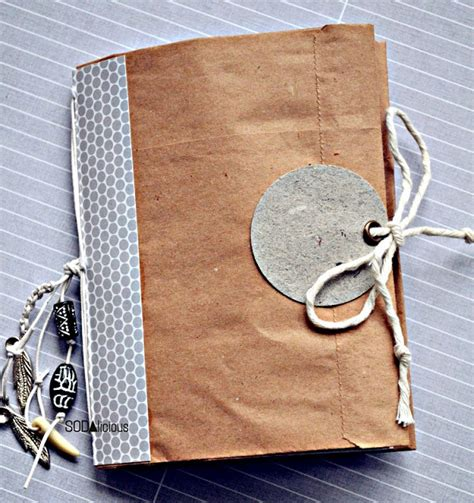 How To Make A Brown Paper Bag Book Cover - amazing brown paper bag tutorials u create