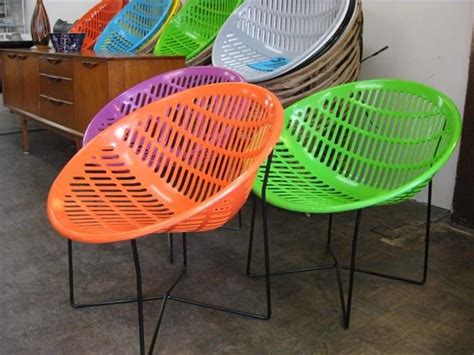retro plastic patio chairs solair chairs original made in canada motel chair