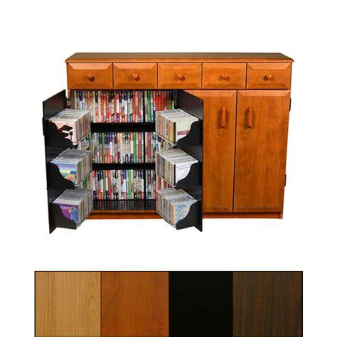 venture horizon wide wooden media cabinet with
