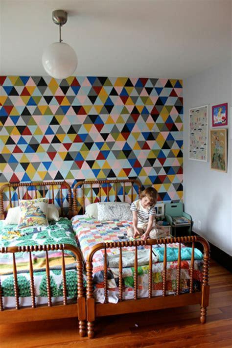 grüne wände im schlafzimmer kinderzimmer idee wandfarbe
