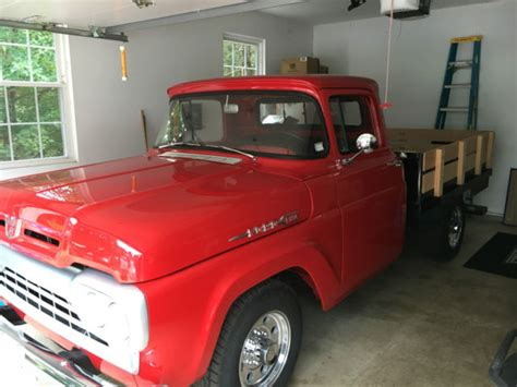 f250 truck bed for sale red 1960 ford f250 stake bed truck for sale photos