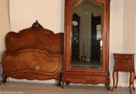 Antique French Bedroom Furniture | ravishing bedroom set antique french louis xv carved for