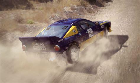 dirt rally si aggiorna con il supporto per dirt rally the machine
