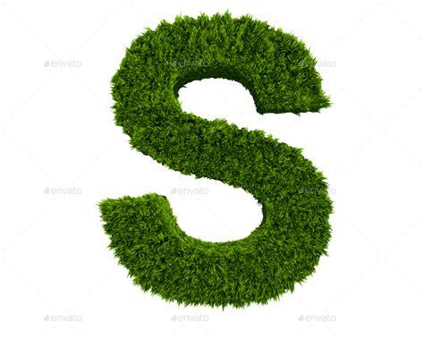 grass letters  creativedurrani graphicriver