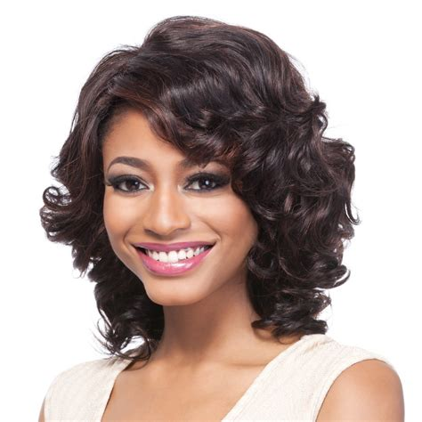 romance curl weave hairstyles it s a cap weave 100 human hair wig romance curl