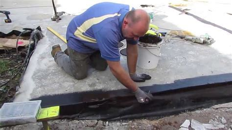 How to Waterproof a Concrete Slab   YouTube