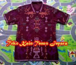Tenun Antik 2 kemeja tenun motif antik toko kain tenun