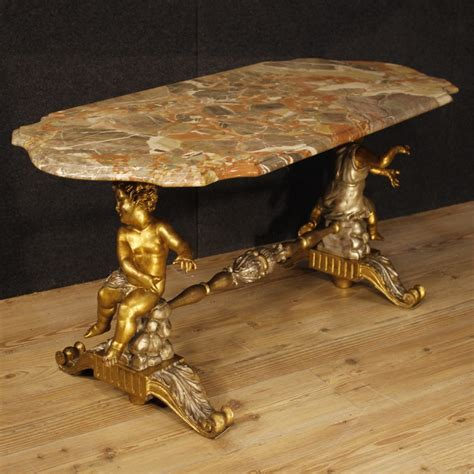 italian coffee tables uk italian coffee table with marble top and sculptures