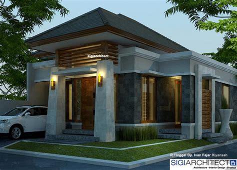 Desain Depan Rumah Bali | desain rumah type 54 60 rumah bali modern
