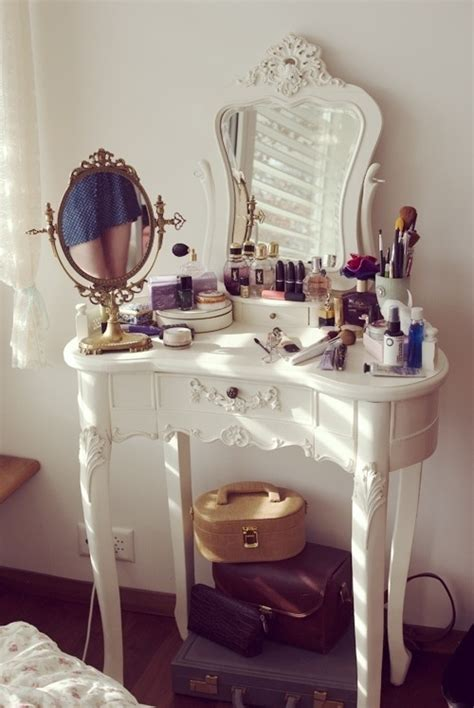 makeup desk randoms ii pinterest