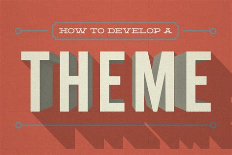 theme about why your presentation needs a theme