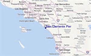 san clemente map california san clemente pier surf forecast and surf reports cal