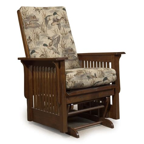 chair and a half rocker with ottoman best home furnishings glide rocker and ottomans texiana