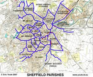 sheffield map the sheffield indexers sheffield genealogy links map