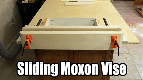 build  inexpensive sliding moxon vise  youtube
